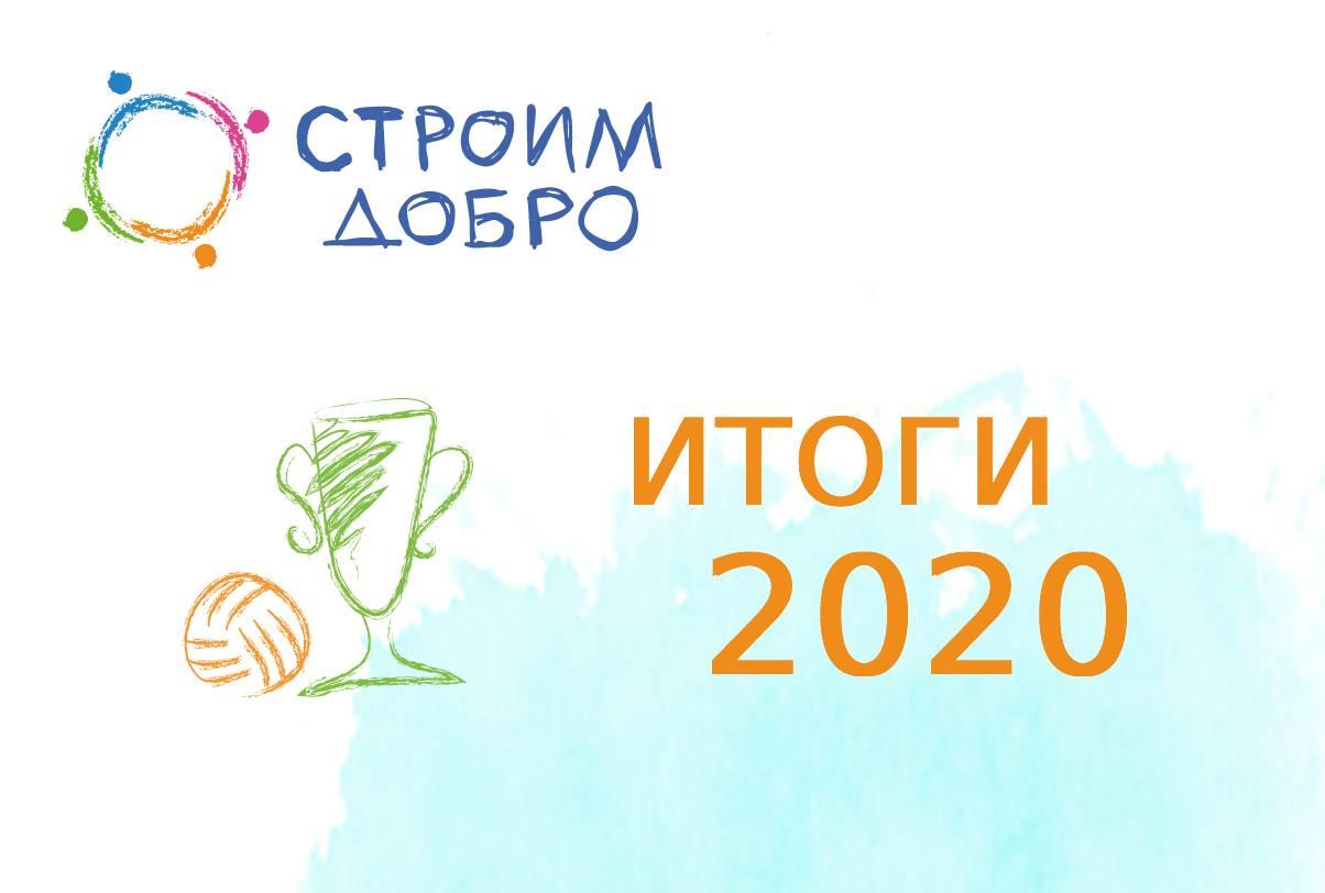 Итоги работы фонда «Строим Добро» за 2020 год